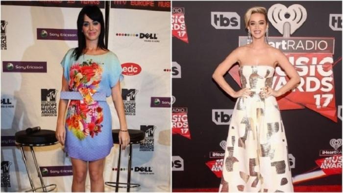 Американская певица не прекращает экспериментировать со своей внешностью, которая с возрастом изменилась в лучшую сторону.