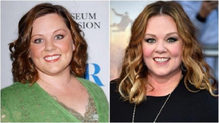 Удивительно, но видимо лишний вес защищает голливудскую комедийную актрису от возрастных морщин!
