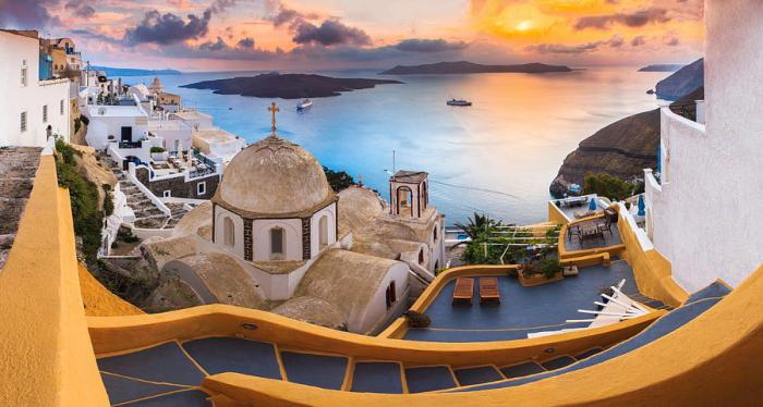 Греческий остров мечты.