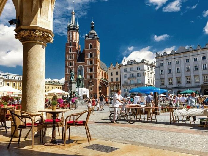 Кафе на Рыночной площади.