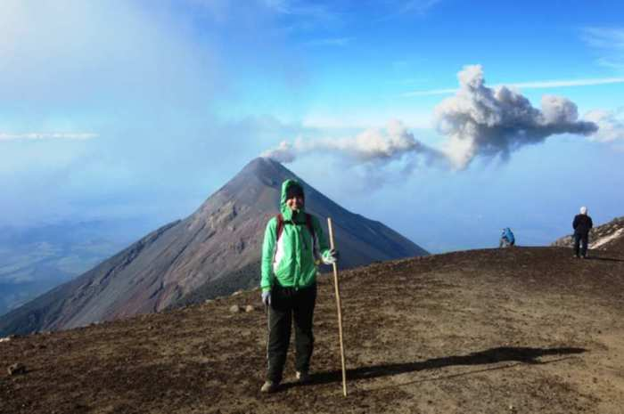 Стратовулкан, высота которого составляет 3976 метров.