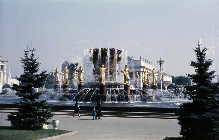 Москва глазами туристов. 1966 год.