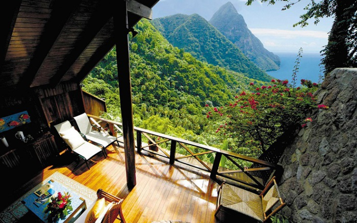 ����-�����, ����-�����. �������� Ladera Resort.