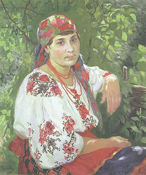 Автор картины – русский и украинский советский живописец Прохоров Семен Макарович.