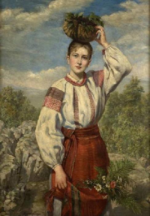 Автор картины – художница Антонина Маевская.