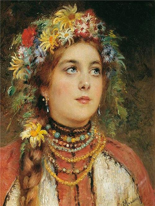 Автор картины – русский художник-передвижник Маковский Константин Егорович.