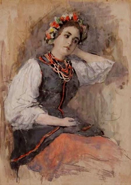 Автор картины – русский живописец и график Вахромеев Александр Иванович.