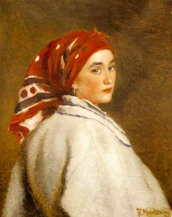 Автор картины – русский художник Маковский Константин Егорович.