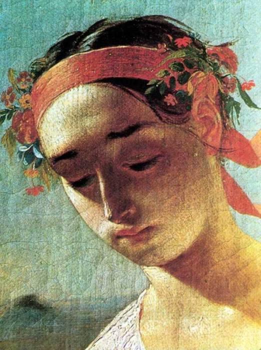 Автор полотна – украинский поэт и художник Тарас Григорьевич Шевченко.