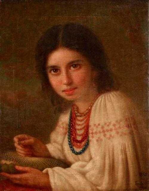 Автор картины – русский художник Брянский Михаил Васильевич.
