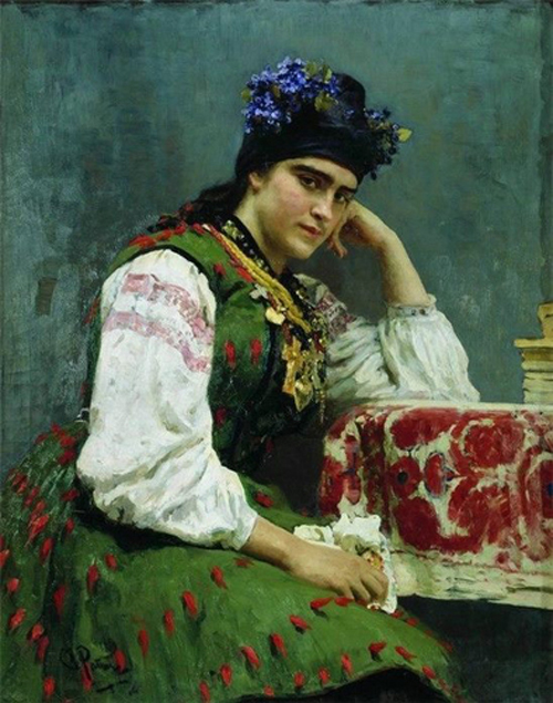 Автор картины – выдающийся русский художник Репин Илья Ефимович.