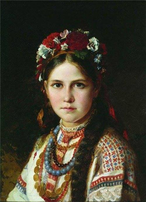 Автор картины – русский живописец Рачков Николай Ефимович.