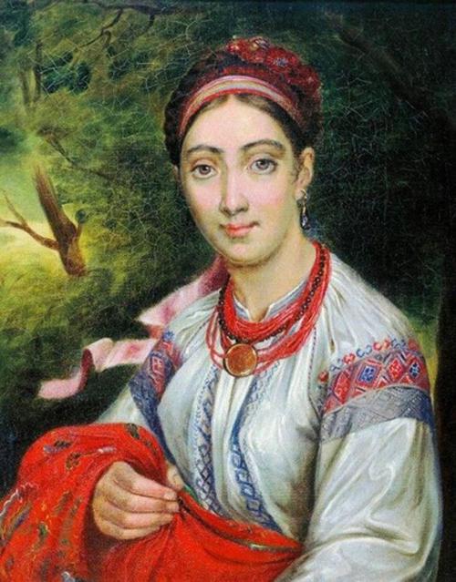 Автор картины – русский мастер романтического и реалистического портретов Тропинин Василий Андреевич.