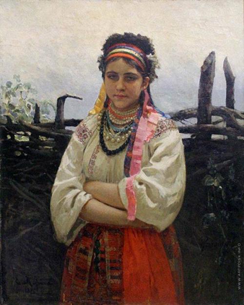 Автор картины – выдающийся русский художник-живописец Репин Илья Ефимович.
