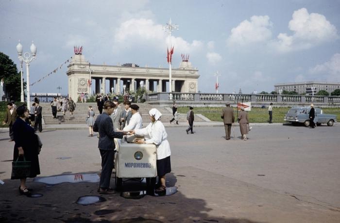 Советское мороженое всегда считалось лучшим в мире. Автор фотографии: Harrison Foreman.