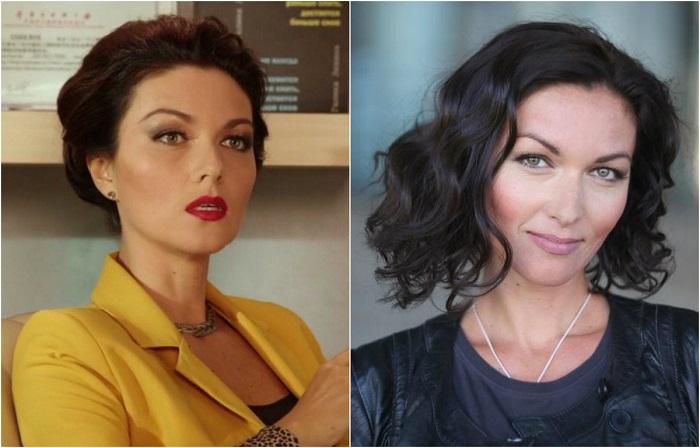 Актриса особенно запомнилась зрителям ролью яркой роковой красотки в сериале «Не родись красивой».