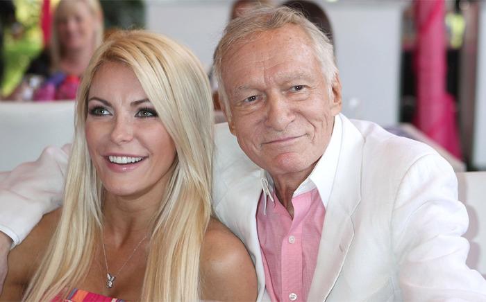 89-летний владелец журнала «Playboy» Хью Хефнер уже два года счастлив с молоденькой моделью своего журнала 29-летней Кристал Харрис. Разница в возрасте: 60 лет.