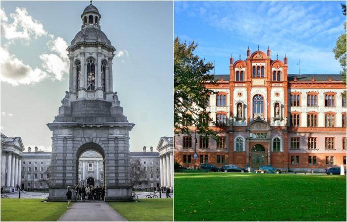 Красота известных университетов мира.