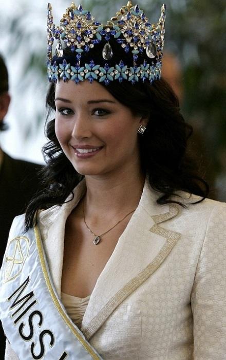 Уннур Бирна стала третьей победительницей конкурса «Мисс Мира» в 2005 году, из Исландии.