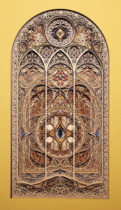 Художник-дизайнер Эрик Стэндли использует свои удивительные творения при проектировании церквей, соборов и других объектов в готическом стиле.