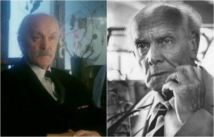 Роль отца Филимонова вошла в огромное количество амплуа, сыгранных знаменитым актером в кино.