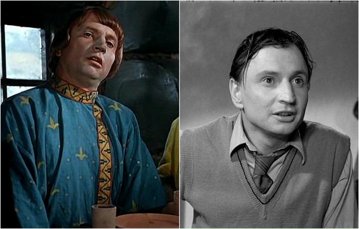 Советский и российский киноактёр играл преимущественно эпизодические роли, но зато в самых популярных фильмах.