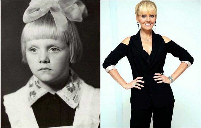 Девочка, которая потом стала популярной российской певицей, обожала учиться и окончила школу с золотой медалью.