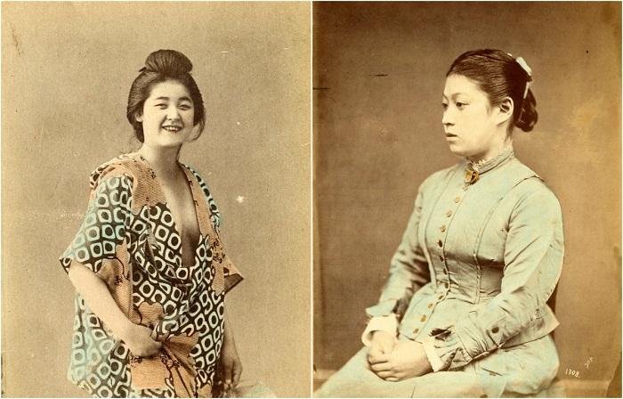Старинные японские фотографии эпохи Мэйдзи (1868—1912).