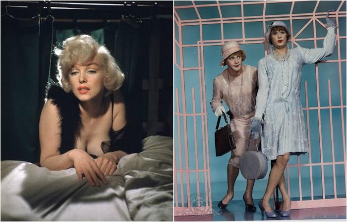 Цветные фотографии со съемочной площадки фильма.