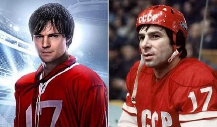Данила Козловский сыграл роль Валерия Харламова – нападающего команды сборной СССР.