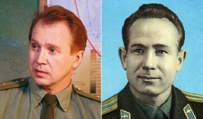 Евгений Миронов сыграл роль Алексея Леонова – советского космонавта, который первым вышел в открытый космос.