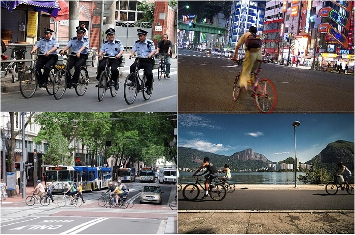 Лучшие в мире города для велосипедистов.