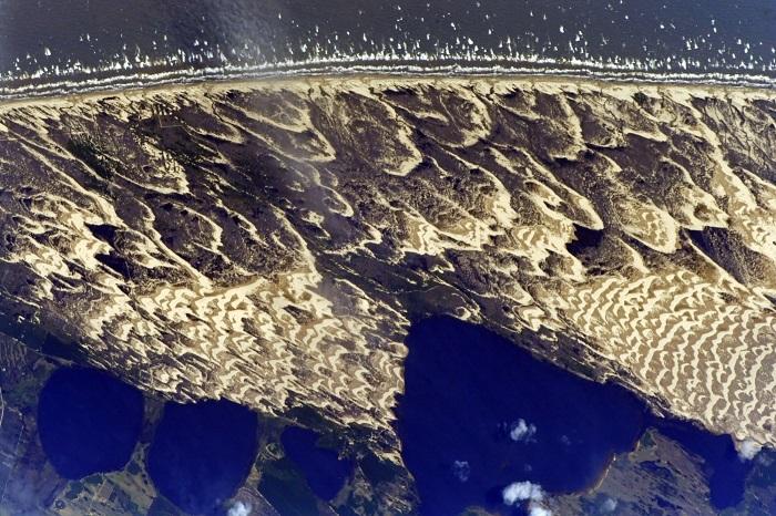 Восхитительные пляжи на побережье Атлантического океана в Южной Америке.