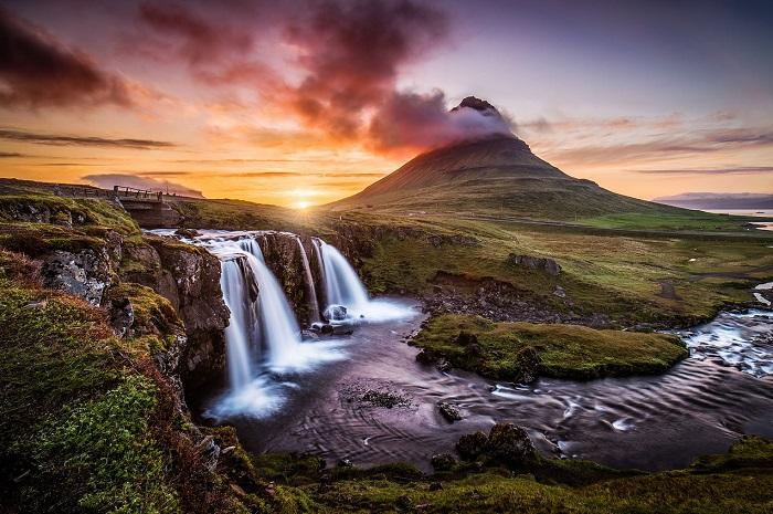 Красивейшие горные хребты и вершины мира.