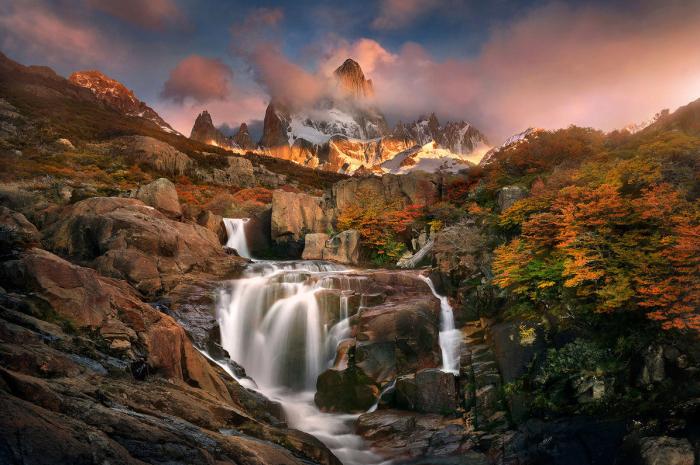Вторая самая популярная достопримечательность национального парка Лос-Глосьярес высотой над уровнем моря - 3359 метров.