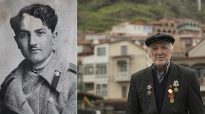 88-летний Георгий из Тбилиси, Грузия.