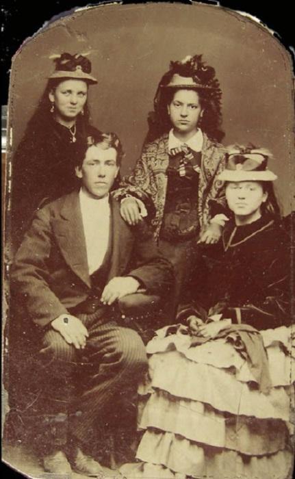 Ретро фотография, сделанная в Лондоне в Викторианскую эпоху.