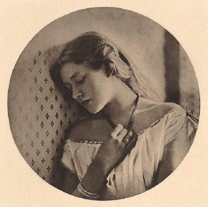 Эллен Терри в возрасте шестнадцати лет, 1864 год.