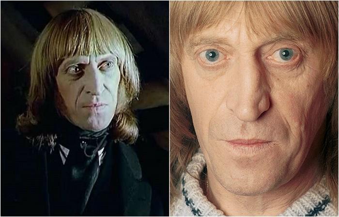 Актер сыграл в первом российском сериале «Петербургские тайны» доктора Катцеля.