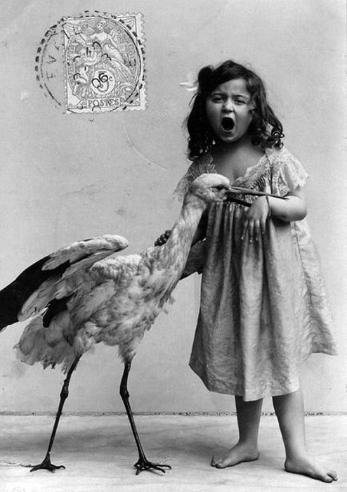 Французская открытка 1900 года.