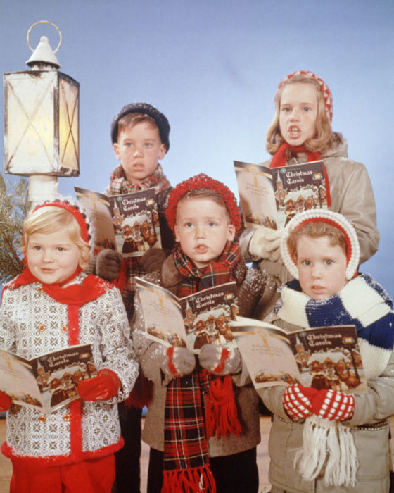 Детские рождественские песни.
