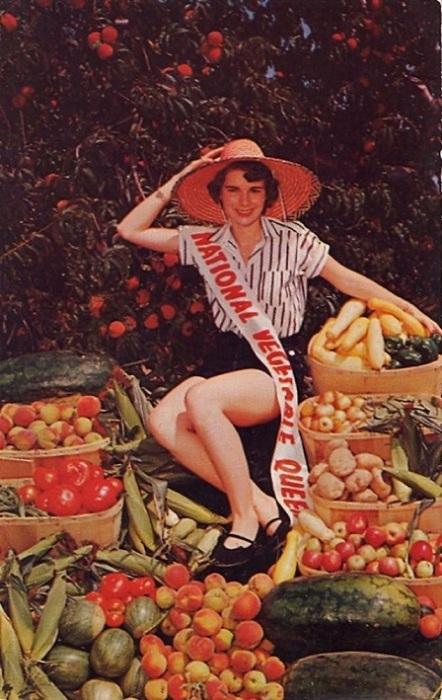 «Национальная Королева овощей» - именно такой титул получила победительница одного из конкурсов красоты, проходившего в Камберленд Каунти штата Нью-Джерси.