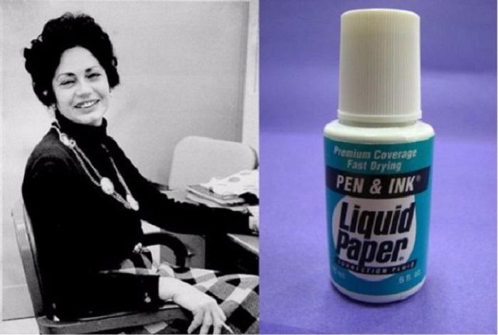 Американская предпринимательница, бывшая машинистка, изобретательница корректирующей жидкости Liquid Paper.