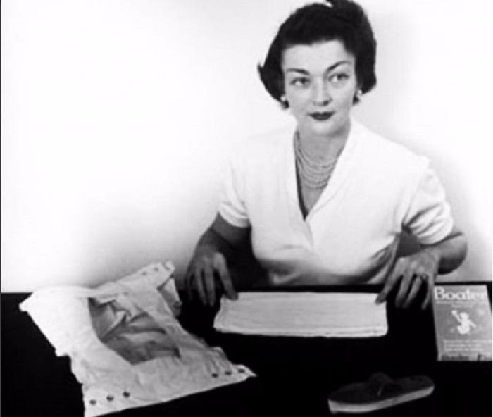 Марион стала первой женщиной, которая изобрела одноразовые подгузники.