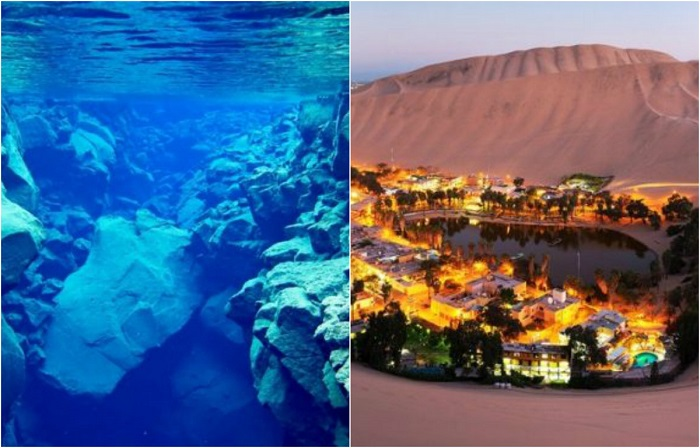 Удивительные места мира, которые стоит посетить.