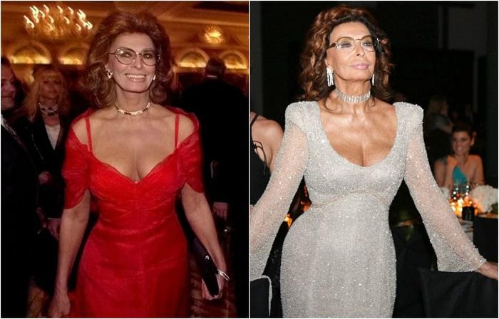 Привлекательная актриса никогда не стеснялась демонстрировать фигуру в откровенных нарядах и делать яркий макияж.
