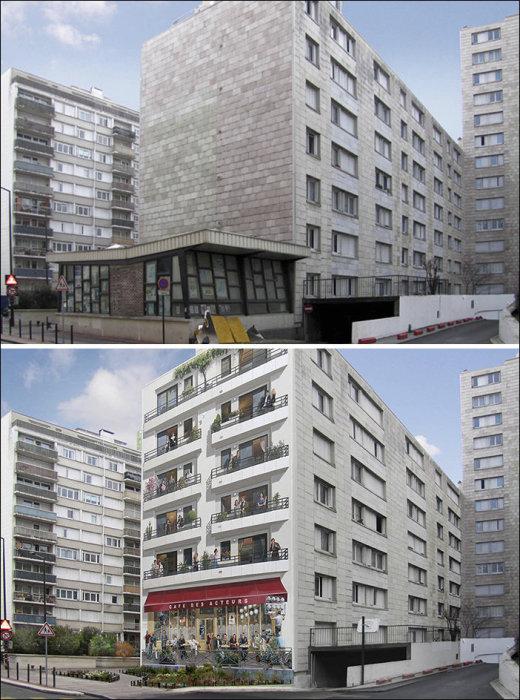 Благодаря художнику дом получил несколько дополнительных квартир.