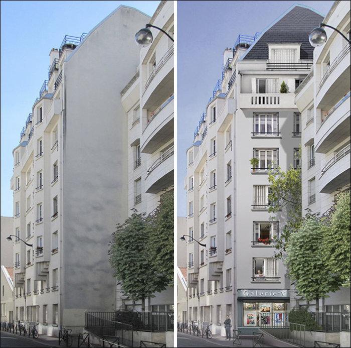 Масштабные оптические иллюзии, как часть архитектурного ансамбля.