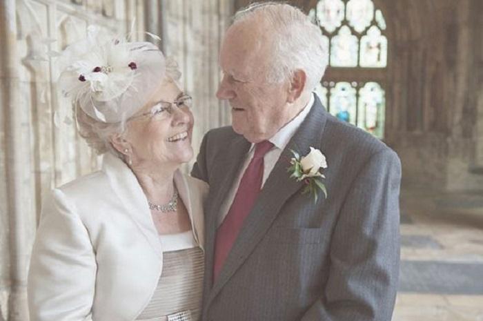 Самый искренний и трогательный снимок влюблённой пары.