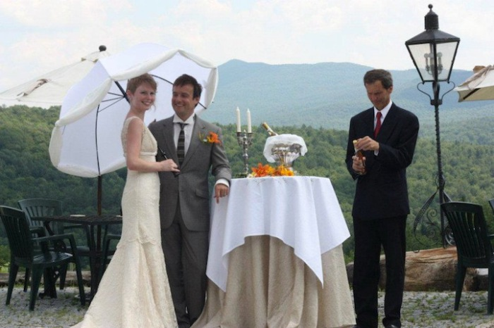 Свадьба на винограднике.